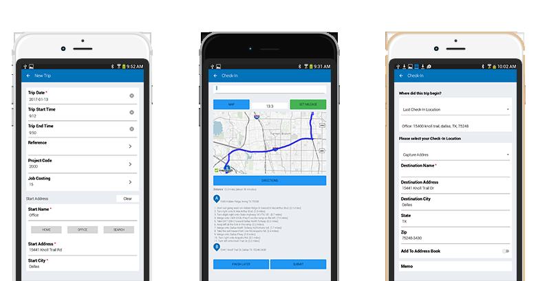 mileage reporting app suremobile companymileage llc